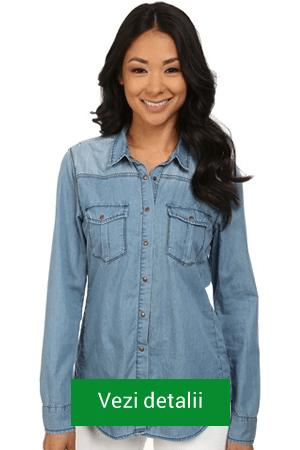 Camasa de blugi Blank NYC Denim Shirt