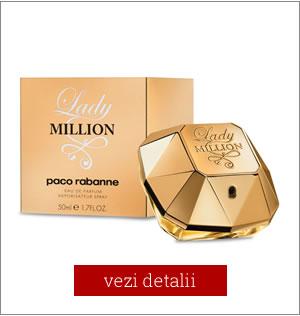 Apa de Parfum Paco Rabanne Lady Million cel mai mic pret