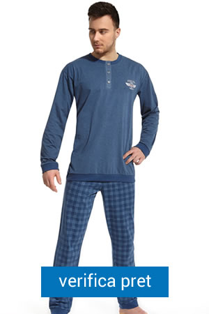 Pijama barbati - Cornette in carouri