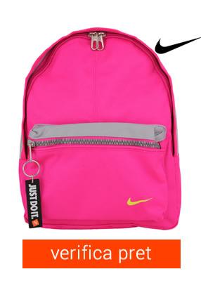 ghiozdan Nike roz pentru fete
