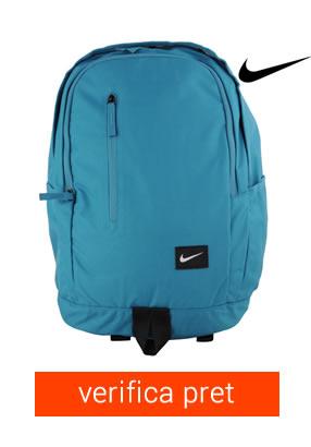 ghiozdan albastru Nike pentru fete si baieti