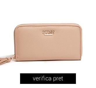 Portofel GUESS Laila Zip-Around Wallet