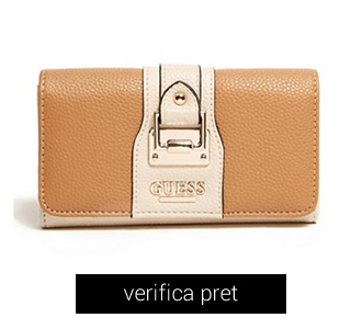 Portofel GUESS Mylene Slim Wallet