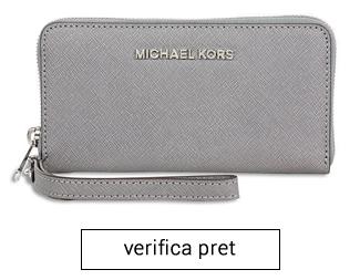 Portofel Travel Leather Michael Kors