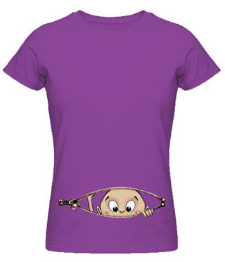 tricouri pentru gravide mov