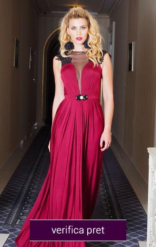 rochie lunga domnisoare de onoare