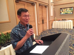 Bradley Lau, HOS President