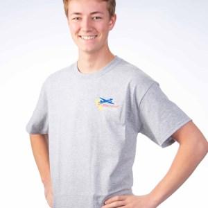 Men's short sleeve - Front Gray