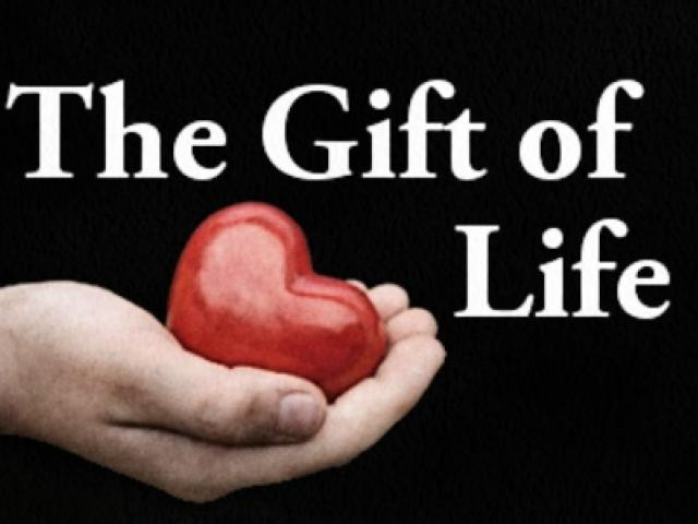 The Gift of Life Why is it Important  Honor Society