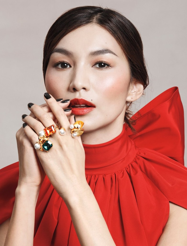 Gemma Chan for Allure US April 2019. Photographed by Paola Kudacki.