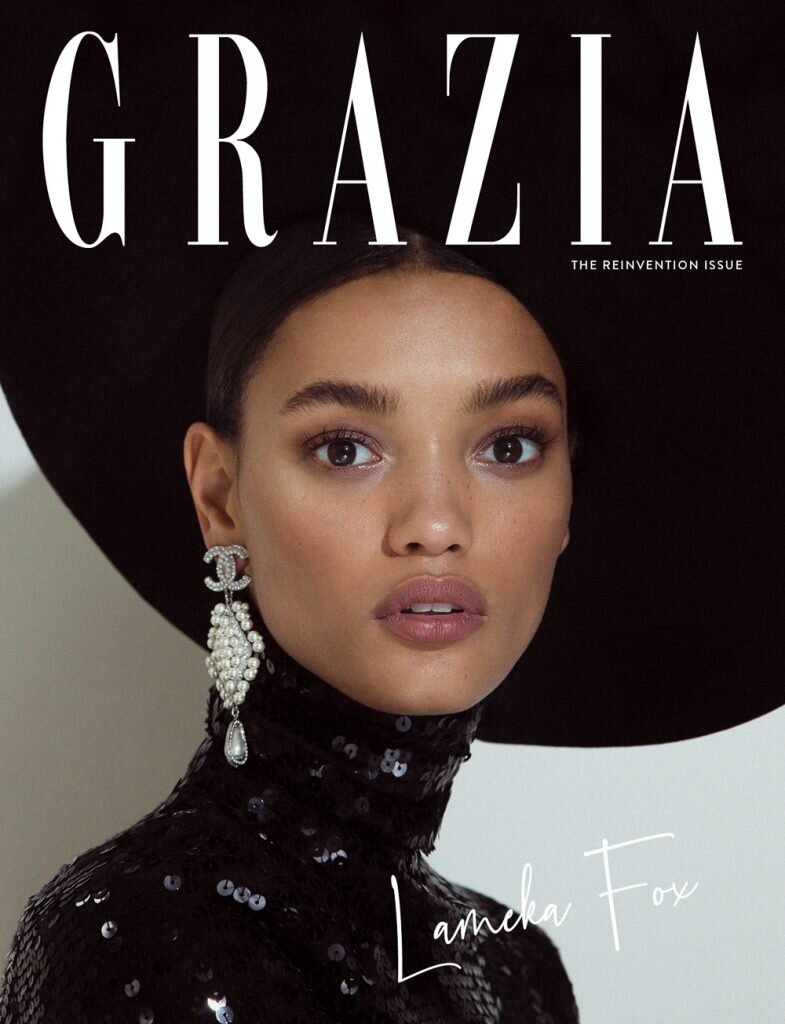 Lameka Fox for Grazia Magazine. Photographed by Daniella Midenge.