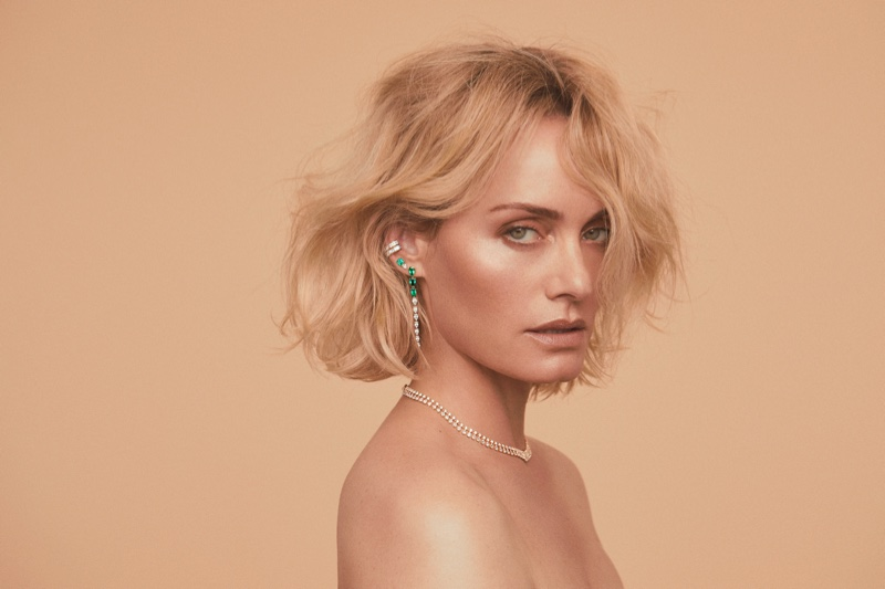 Amber Valletta for Anita Ko 2020 campaign. Photographed by Zoey Grossman.