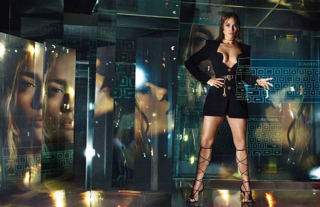 Jennifer Lopez, Kendall Jenner, Kohei Takabatake and more  for Versace Spring Spring 2020. Photographed by Mert & Marcus.