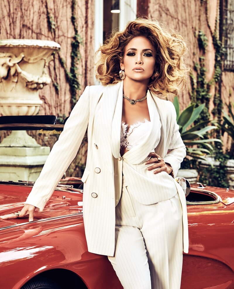 Jennifer Lopez for GUESS Spring 2020 Campaign. Photographed by Tatiana Gerusova.