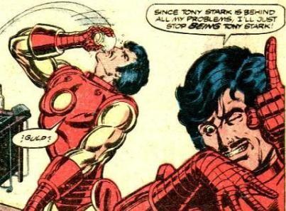 Drunk Tony Stark