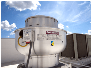 which commercial kitchen exhaust fan is