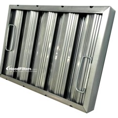 Kitchen Hood Filters Lowes White Sink Not All Stainless Steel Baffle Are Created Equal The Filter Magnet Test