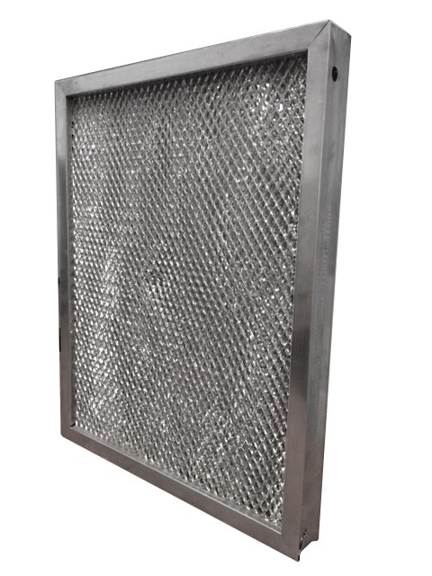 commercial kitchen hood parts retro light fixtures ez kleen metal mesh air filters - foodservice blog