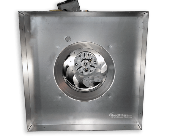 900-1500 Cfm Direct Drive Upblast Food Truck Exhaust Fan With 13.75