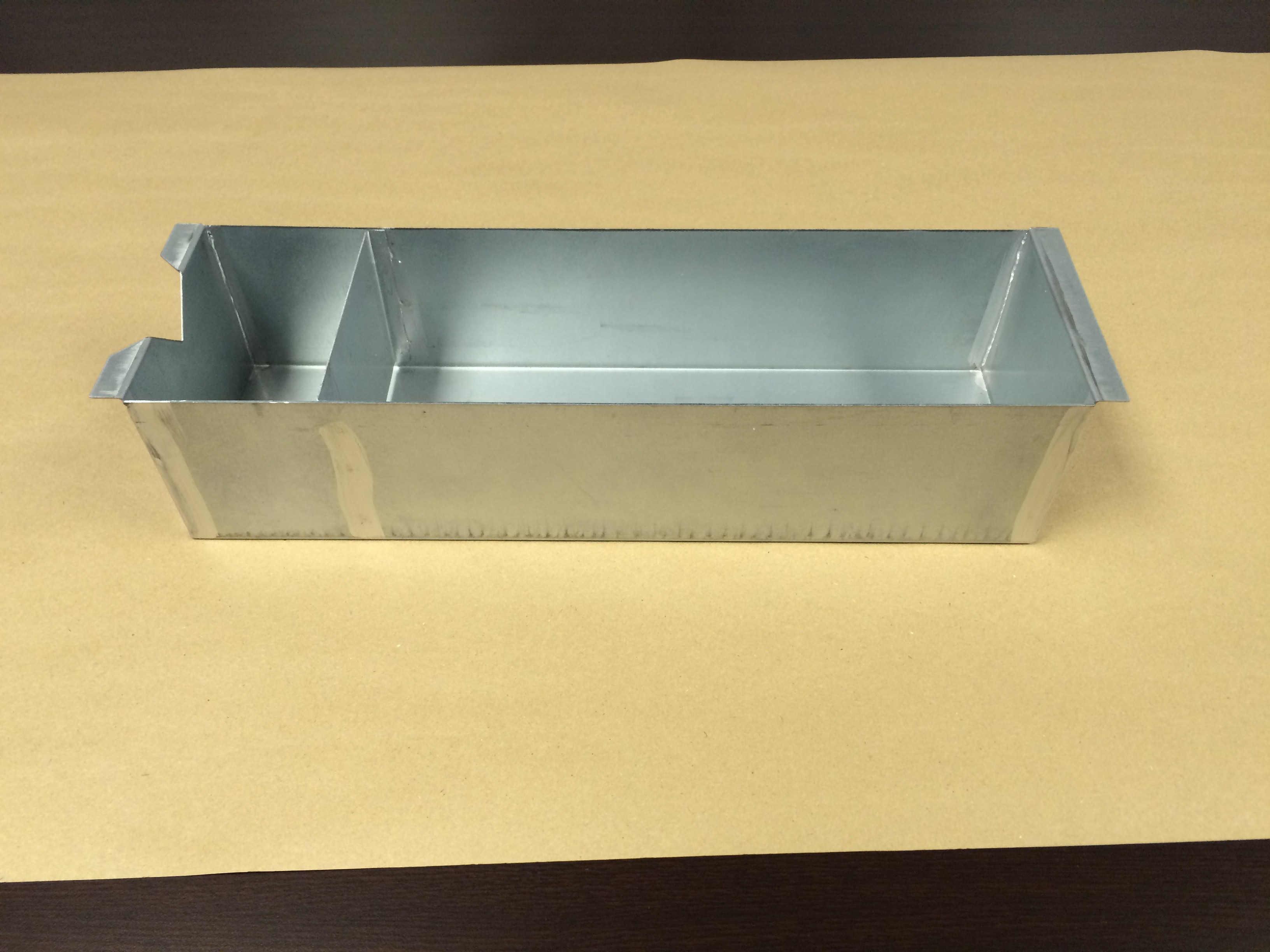 exhaust fan grease box includes down