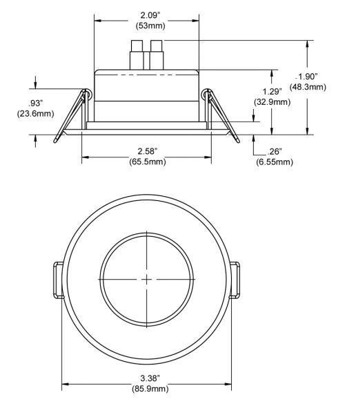 small resolution of download the recess mount perimeter led light information sheet pdf