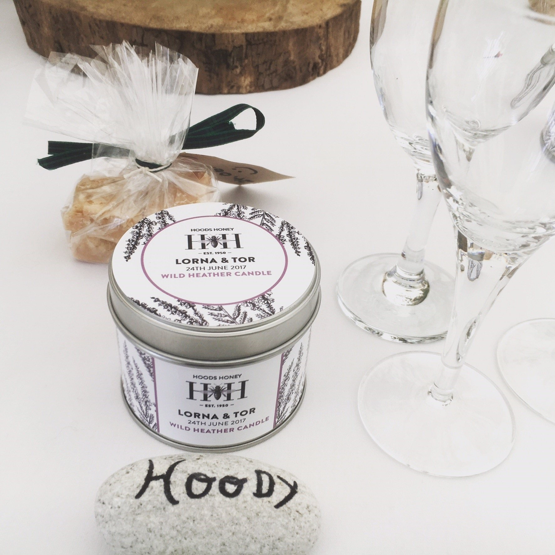 Hoods Honey Wedding Favours