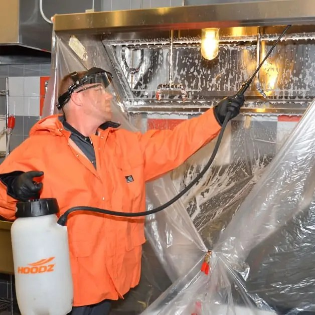 exhaust hood system cleaning hoodz