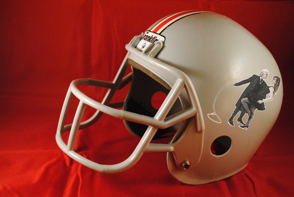 This Georgia Crackers helmet will never hit the field, but man, we absolutely love it's authenticity!