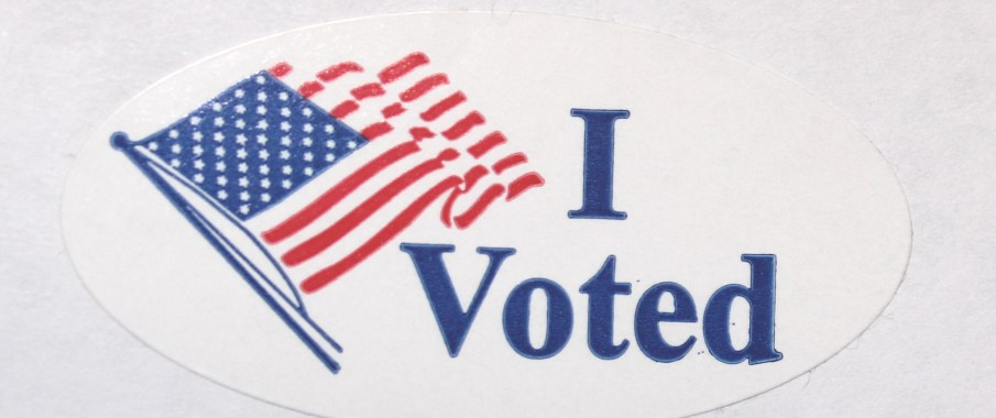 Did you get your I Voted sticker today? If not, you didn't vote.