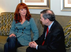 Kathy Griffin in 2008, way before people remembered who she was.