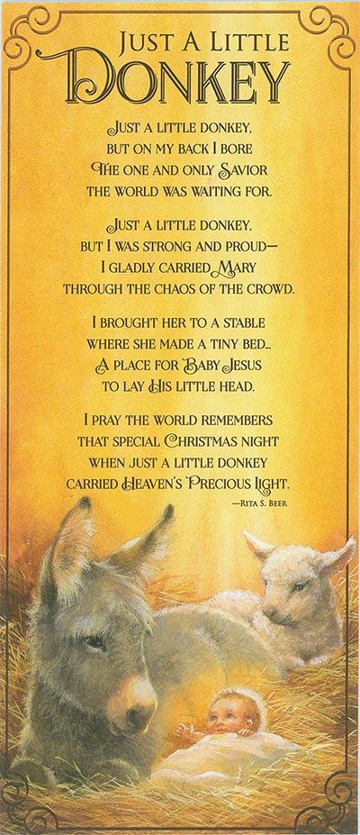 Just A Little Donkey Cards Wwwhoofprintscom