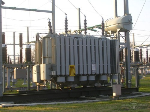 110 kV-transformator in Meppel