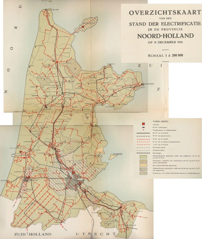 Netkaart PEN 1924
