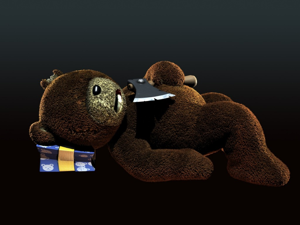Ps3 Animated Wallpaper Naughty Bear Screenshots Hooked Gamers