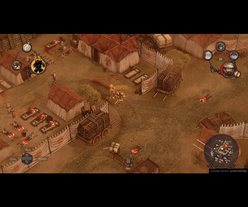 Shadow Tactics Blades Of The Shogun PC Preview