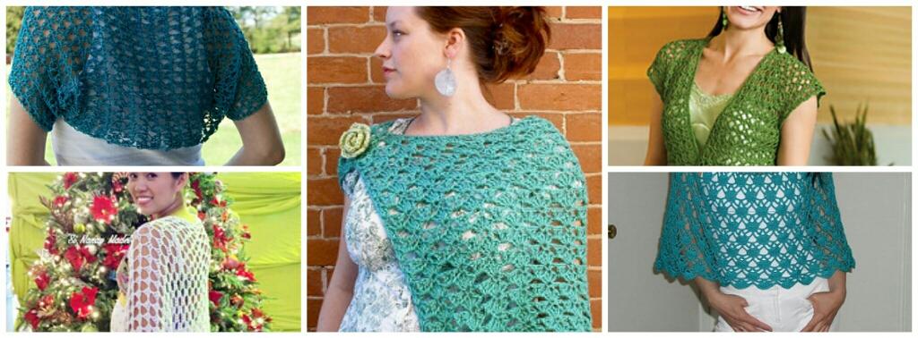 Crochet Spring Shrug Free Patterns-Beautiful Shrugs