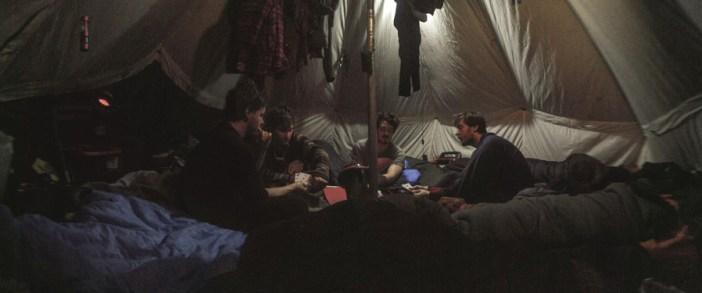 10 -Inside Tent