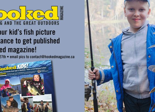 Get Your Kid's Fish Pic Published!