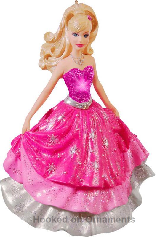 2010 Barbie Fashion Fairytale Hallmark Keepsake Ornament