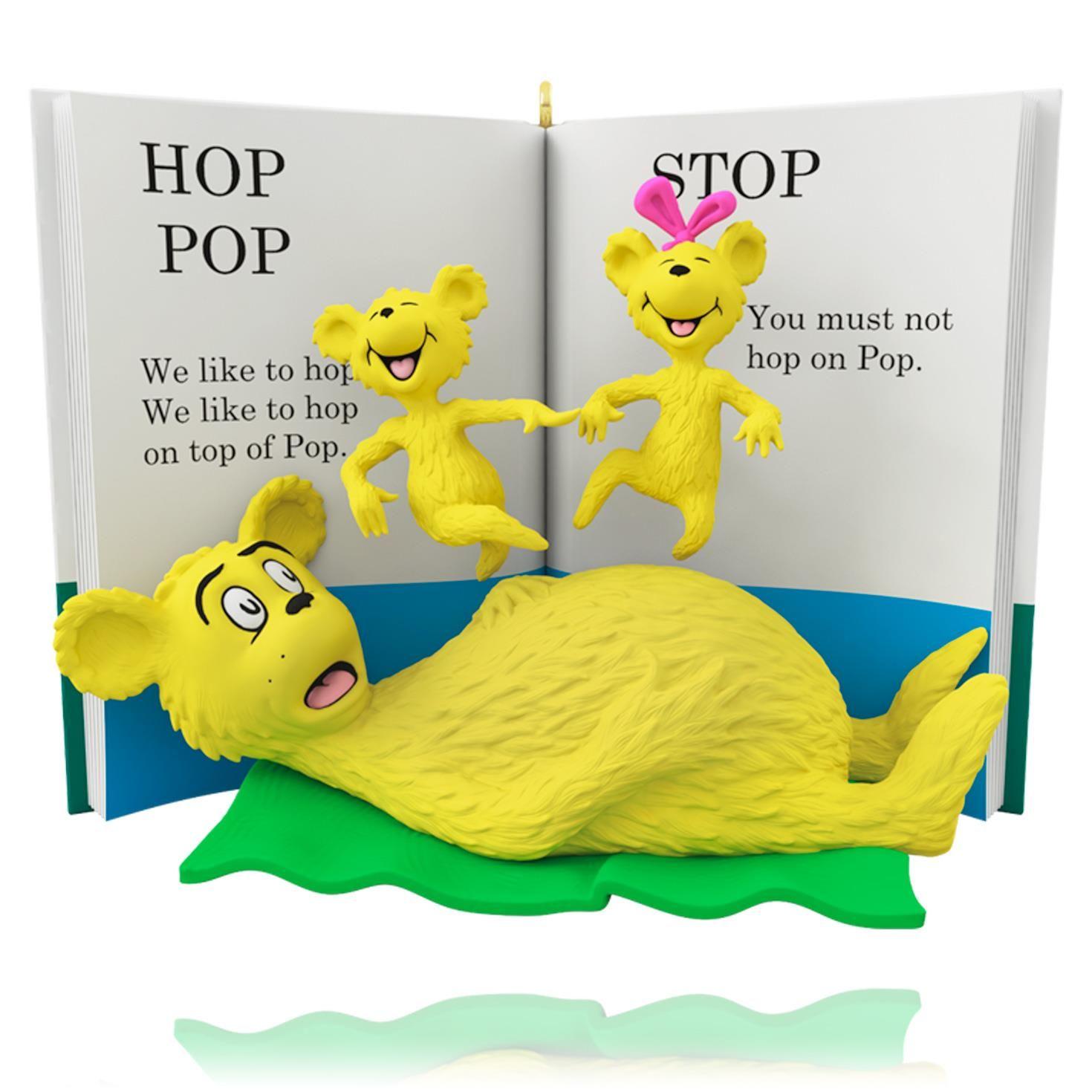 Hop On Pop Dr Seuss Hallmark Keepsake Ornament