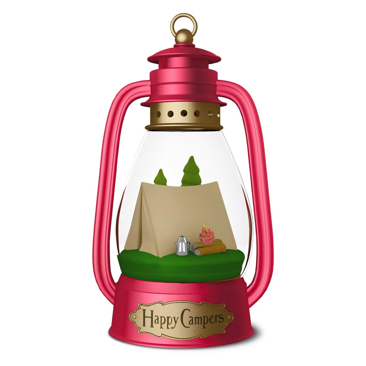 2016 Happy Campers Hallmark Keepsake Ornament  Hooked on