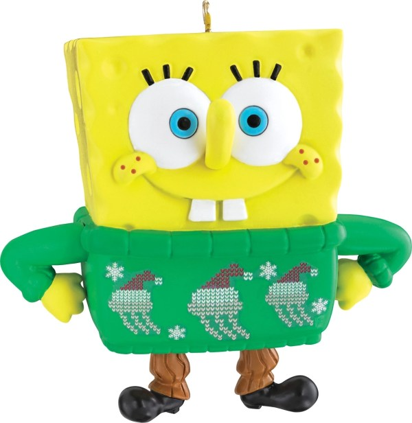 Spongebob SquarePants Christmas Ornament