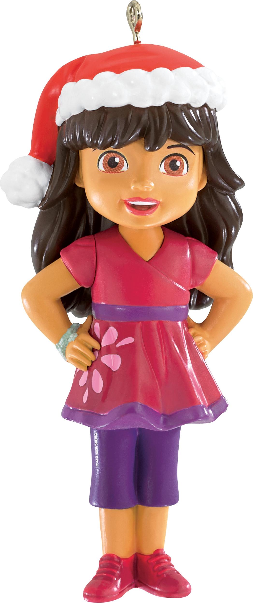 2015 Dora And Friends Christmas Ornament Carlton