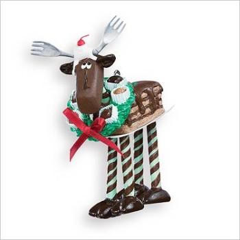 2007 Chocolate Moose Hallmark Christmas Ornament At Hooked On Hallmark Ornament