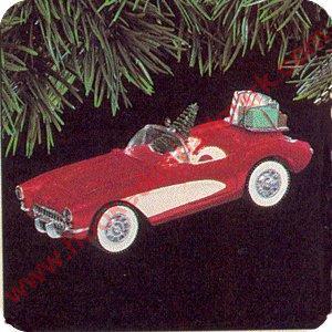 1991 Classic American Cars 1 1957 Corvette Hallmark