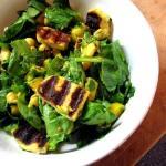 Halloumi, Mango & Chickpea Salad