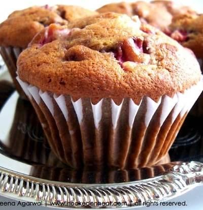 Strawberry Banana Almond Muffin