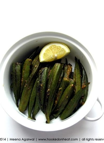 Indian Cooking A-Z: C is for… Chatpati Bharwaan Bhindi