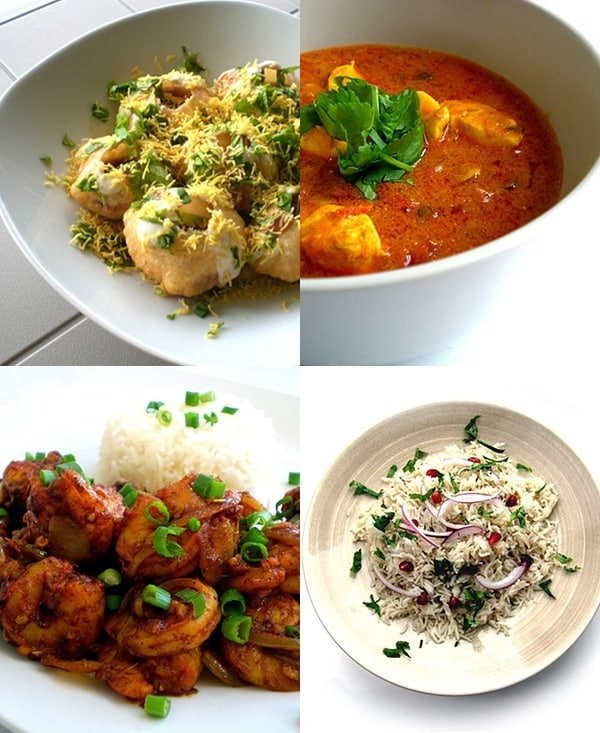 Recipes for Eid Menu taken from www.hookedonheat.com. Visit site for detailed recipes.
