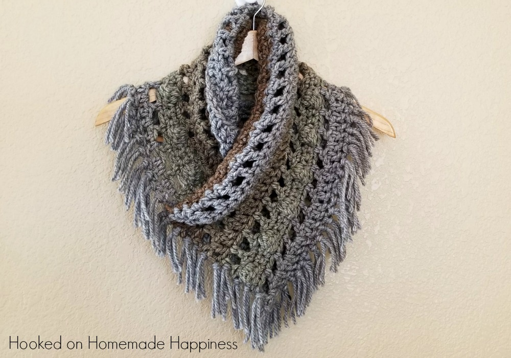 Tea Cake Cowl Crochet Pattern Hooked On Homemade Happiness